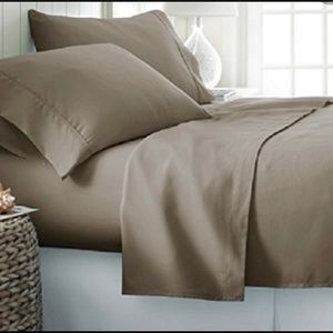 NWT New bedding sheets set 6 pc Allergen Free SOFT